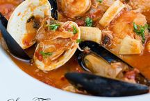 Les Poissons / Seafood recipes  / by Sarah Null