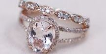 ENGAGEMENT RINGS ♡ / For brides-to-be who want to cause, not experience, ring envy!