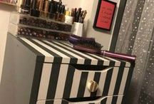 Make Up Storage & Tips