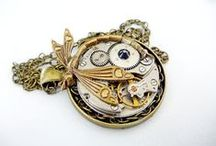 My Style - Stuff I make and sell - Steampunk Jewelry, vintage, Modern & Precious Metals / http://www.facebook.com/FunkyGlam.Jewellery. or www.funkyglam.co.nz