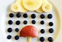 Fun with food for kids / Fun Food Activities for Kids that are Healthy and primarily focused on Fruits and Vegetables.  Food Art, Vegetable Art, Fruit Art, food fun