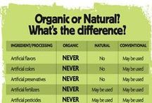 REAL-ly Interesting Information / Navigating labels, nutritional panels, finding recipes that fit your #natural vs #organic… what does it all mean? It can all be overwhelming. So, we put together this board of ongoing quick references that we hope will be helpful!