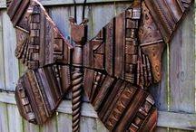 BUTTERFLIES & DRAGONFLY ARTS / by Linda Nirschl