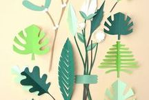 Paper Cuts / Lovely paper cut patterns, or illustrations. Or illustrations that look like paper cuts! :)
