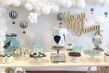 Baby Shower Themes / Looking for the perfect baby shower theme? Take a peek at our ideas. #babyshowers #babyshowerthemes