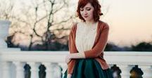 Style for a romantic girl in me / Romantic, feminine, modest fashion