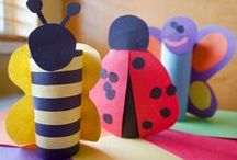 Kids Crafts / Fun crafts to do with the kiddos. / by Rebecca - Simple as That Blog