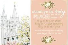 LDS Inspiration / A collection of LDS church ideas for Young Women's, Relief Society, Primary, Family Home Evening and more!