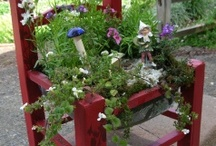 Because Faeries Are Real / Fairy houses and little fairies / by Pam Kromenacker
