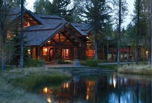 A Cabin In The Woods / Rustic lifestyle / by Pam Kromenacker