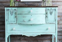 ...painted furniture / Don't buy new...paint or redo!