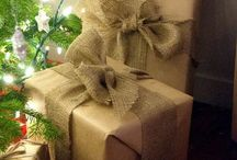 ...brown paper it / brown paper packages tied up in string..these are a few of my favorite things...