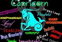 Capricorn / Zodiac Sign of Capricorn / by Pam Kromenacker