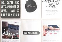 Pocket Style Scrapbooking / A collection of Pocket-Style Scrapbooking Inspiration. Printables, page ideas, photography tips and more!