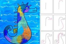Drawing Lessons / Drawing and art lessons for the primary classroom.