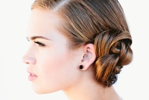 Bride Hairstyles/Make-up wedding / View amazing pics of bride hairstyles and make-up for wedding, get the inspiration to make your perfect wedding!