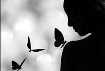 -snow white and black beauty- / by Brigette Rau-Edgell