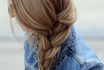 Hair / I love my long, wavy hair and am obsessed with braiding it! My Beauty board has more about natural hair care. / by Meghan Barnett