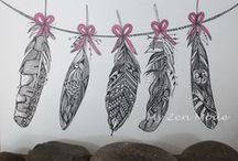 plumes/ pluimen/ feathers