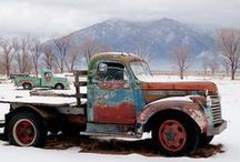 vieux pickup/oude pickup/ old pickup