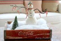 bonhomme de neige / sneeuwman/ snowman