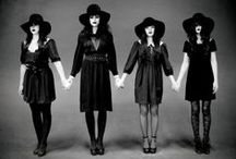 coven / Mood board for our witch themed party/movie night.