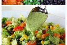 -sensational salads- / by Brigette Rau-Edgell