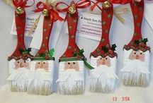 pere noel/ kerstman/ santa claus