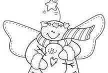 coloriage noel/ kerst prentkleuren/ x-mas coloring