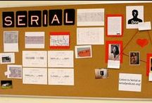 Serial Podcast / A new podcast from the creators of This American Life. One story. Told week by week. Hosted by Sarah Koenig. / by Chelsea Gerow