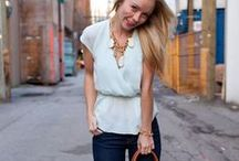 Casual and simple street style / Minimal, simple casual fashion / by Natalka Pavlysh
