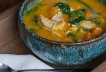 -soups and stews- / by Brigette Rau-Edgell
