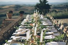 Wedding in Tuscany / Find inspiration for your dream wedding in tuscany! In this board you'll find ideas for style, decorations, photographers, wedding venue, ceremony locations, table settings and much more!