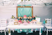 Party Pin-spirations / As a party stylist in another life, I have a soft spot for a well styled party... / by Renée Bugg