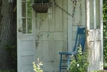 Yard/Outdoor Spaces / by Terri Wood