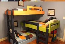 Kid's Fashion and Bedrooms / by Sarah O'Brien