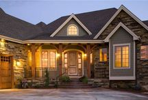 Future Home Exterior Ideas / by Sarah O'Brien