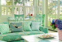 Sun Porch Decor