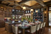 Beautiful Kitchens / No matter where you serve your guests, it seems they love your kitchen best.   / by Charleston Forge