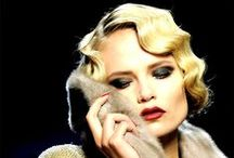 """Vintage Hair  / """"Hair style is the final tip-off whether or not a woman really knows herself.""""  ~Hubert de Givenchy"""