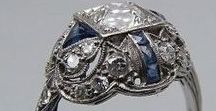 """Vintage Jewels / """"Rich and rare were the gems she wore, and a bright gold ring on her hand she bore..."""" ~ Thomas Moore"""