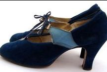 """Vintage Shoes / """"Give a girl the right shoes and she can conquer the world"""" ~ Marilyn Monroe"""