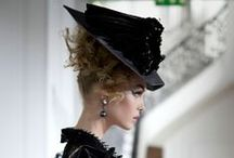 """Vintage Hats / """"If a woman rebels against high-heeled shoes, she should take care to do it in a very smart hat"""" ~ George Bernard Shaw"""