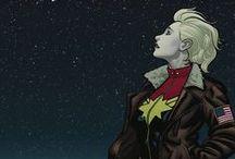 My Captain Marvel / Carol Danvers, pilot and superhero