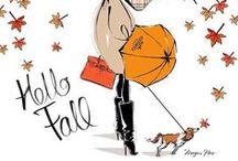 Vintage Autumn ~ Fall-ing....
