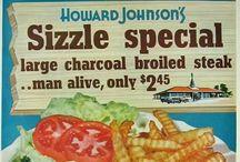 Vintage Menus & Food Ads / by Kellie Hanson Harlick