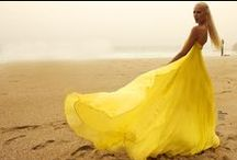 Yellow / The color yellow is sunny - creating hope, cheerfulness, happiness, optimism, and joy.