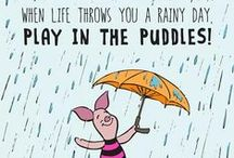Rain Dance / Pluviophile - (n) a lover of rain; someone who finds joy and peace of mind during the rainy days