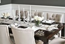 Wine N' Dine / Charleston Forge inspired Dining Rooms. Everything you need to wine n dine any guests that enters your home. Enjoy, relax, and, inspire.