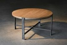 Occasional Tables by Charleston Forge / Interesting pieces make interesting rooms.Our tables are made by hand, one hammer blow at a time. No machine made can match the craft of the artisan. Complemented by solid wood tops or thick clear glass, interesting pieces making interesting rooms.